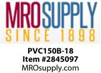 """MRO OPEN ENDS BY WIDTH MATERIAL:PVC150 BLACK C x FS WIDTH: 18"""""""