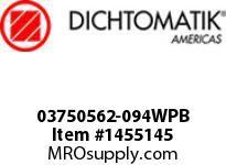 Dichtomatik 03750562-094WPB WIPER