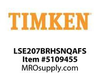 TIMKEN LSE207BRHSNQAFS Split CRB Housed Unit Assembly