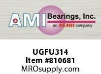 AMI UGFU314 70MM HEAVY ECCENTRIC COLL 4-BOLT FL BEARING