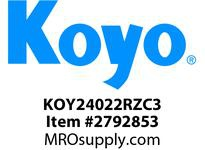 Koyo Bearing 24022RZC3 SPHERICAL ROLLER BEARING