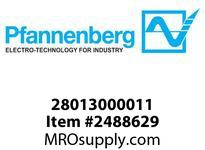 Pfannenberg 28013000011 POL Mounting Spacer 130 Tubular mounting spacer for POL type L-864 130 mm length. Spacer for PO