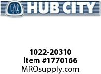 HubCity 1022-20310 KFBE2-1/2LT Spherical Flange Block