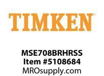 TIMKEN MSE708BRHRSS Split CRB Housed Unit Assembly