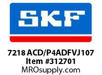 SKF-Bearing 7218 ACD/P4ADFVJ107