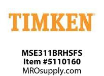 TIMKEN MSE311BRHSFS Split CRB Housed Unit Assembly