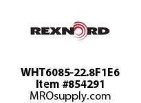REXNORD WHT6085-22.8F1E6 WHT6085-22.8 F1 T6P WHT6085 22.8 INCH WIDE MATTOP CHAIN