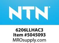 NTN 6206LLHAC3 EXTRA SMALL/SMALL SIZE BALL BG SMALL SIZE BALL BRG - STANDARD