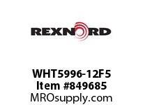 REXNORD WHT5996-12F5 WHT5996-12 F2 T5P WHT5996 12 INCH WIDE MATTOP CHAIN W