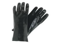 MCR 6300SJ Black PVC Non-Slip Finish Jersey Lined 14