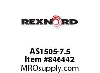 REXNORD AS1505-7.5 AS1505-7.5 AS1505 7.5 INCH WIDE MATTOP CHAIN W
