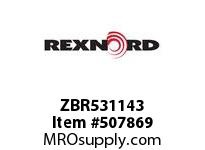 ZBR531143 FLANGE CARTRIDGE BLK W/HD 6829516