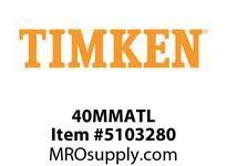 TIMKEN 40MMATL Split CRB Housed Unit Component