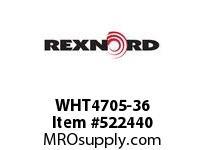 REXNORD WHT4705-36 WHT4705-36 126484