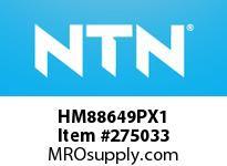 NTN HM88649PX1 SMALL SIZE TRB D<=101.6