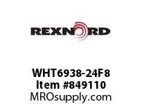 REXNORD WHT6938-24F8 WHT6938-24 F2 T8P WHT6938 24 INCH WIDE MATTOP CHAIN W