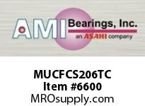 AMI MUCFCS206TC 30MM STAINLESS SET SCREW TEFLON PIL SETSCRWTEFLON COATED FLANGE CARTRIDGE