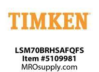 TIMKEN LSM70BRHSAFQFS Split CRB Housed Unit Assembly