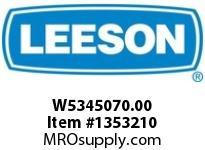 LEESON W5345070.00 FMQ534-52-LL-IEC80/B14-35MM