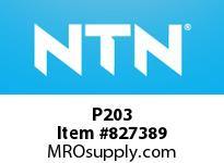 NTN P203 Bearing Units - Cast Housing