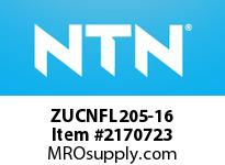 NTN ZUCNFL205-16 Mounted Units (Plastic)