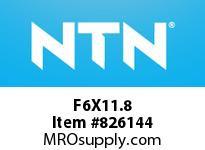 NTN F6X11.8 Needle Rollers