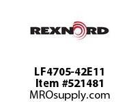 REXNORD LF4705-42E11 LF4705-42 E12-11/64D STAG 152115