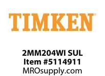 TIMKEN 2MM204WI SUL Ball P4S Super Precision