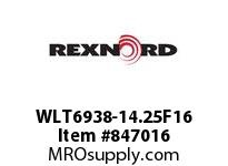 REXNORD WLT6938-14.25F16 WLT6938-14.25 F1.5 T16 SP CONTACT PLANT FOR ACCURATE DESCRIPT