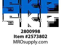 SKFSEAL 2800998 LARGE DIAMETER SEAL