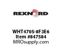 REXNORD WHT4705-8F3E6 WHT4705-8 F3 T6P