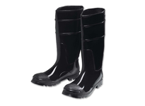 West Chester 8350/14 16^ Black PVC Steel Toe/Shank Boot. Over the sock Style