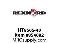 REXNORD HT8505-40 HT8505-40 HT8505 40 INCH WIDE MATTOP CHAIN WI
