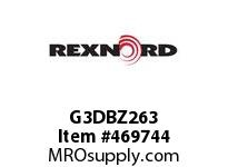 REXNORD 6773276 G3DBZ263 263.DBZ.CPLG RB SD