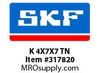 SKF-Bearing K 4X7X7 TN