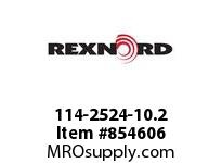 REXNORD 114-2524-10.2 KU6085-8T POSI 9.58 LONG KU6085-8T SOLID SPROCKET WITH 1-1/2