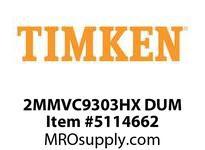 TIMKEN 2MMVC9303HX DUM Ball High Speed Super Precision
