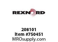 REXNORD 208101 593073 350.S71.HUB LG TPR MKD
