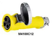 HBL-WDK M4100C12 MARINE PS CONN 3P4W 100A 125/250V