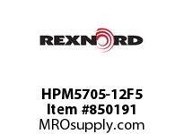 REXNORD HPM5705-12F5 HPM5705-12 1F60-T5P HP5705 12 INCH WIDE MATTOP CHAIN WI