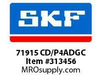 SKF-Bearing 71915 CD/P4ADGC