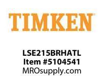 TIMKEN LSE215BRHATL Split CRB Housed Unit Assembly