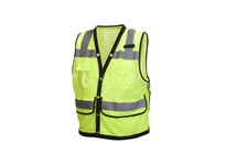 Pyramex RVMS2810X2 Hi-Vis Lime with Black Trim - Size 2X Large