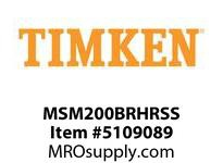 TIMKEN MSM200BRHRSS Split CRB Housed Unit Assembly