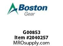 Boston Gear G00853 FRATFB-B 1/2HP 115/230V1 AC MOTOR BRK