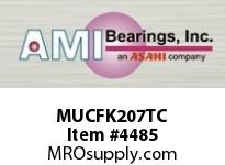 AMI MUCFK207TC 35MM STAINLESS SET SCREW TEFLON 3-B