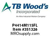 TBWOODS P4414M115FL P44-14M-115-FL SYNCH SPROCK
