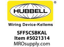 HBL_WDK SFFSCSBKAL FIBER SNAP-FITFLSHSC SMPLXBKZIRCAL