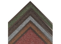 NoTrax 105R0072BU 105 Chevron 6X60 Slate Blue Chevron provides distinctive styling and easy maintenance in one mat. Popular chevron carpet design scrapes debris from shoes regardless of the traffic flow. Chevron is the perfect choice for an