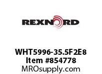 REXNORD WHT5996-35.5F2E8 WHT5996-35.5 F2 T8P WHT5996 35.5 INCH WIDE MATTOP CHAIN